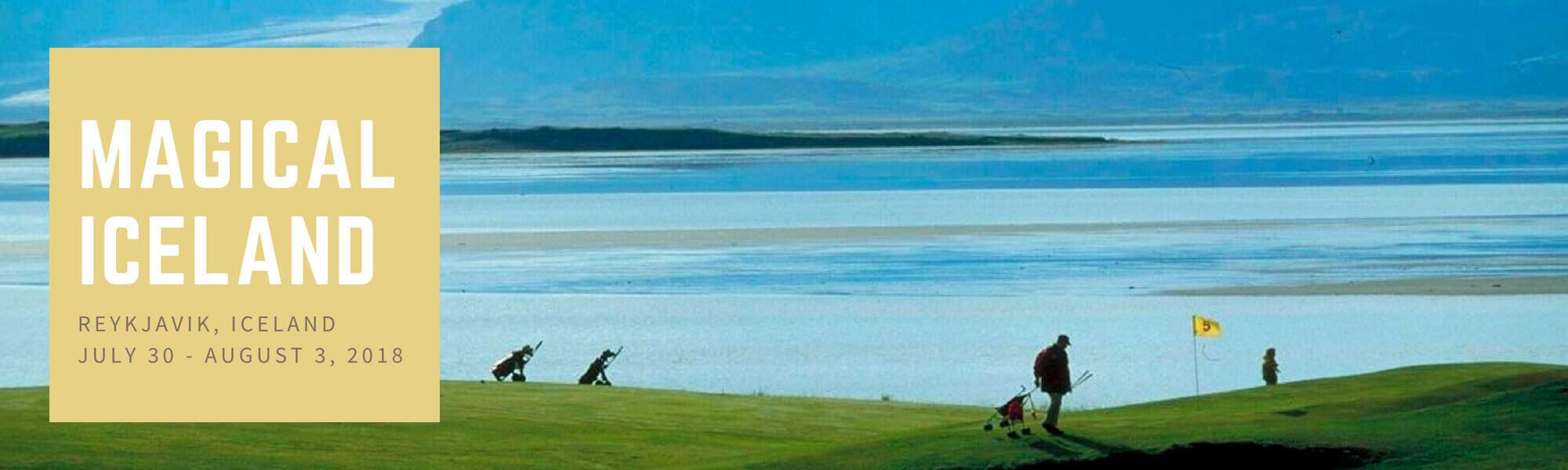 Magical Iceland golf tournament - Senior Golfers of America