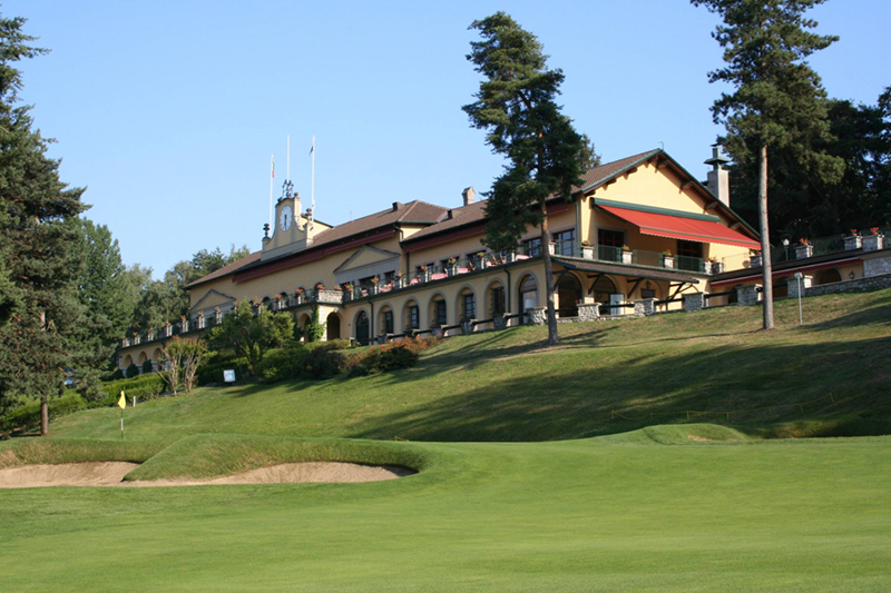 Villa d'Este Golf Club.  Lake Como, Italy