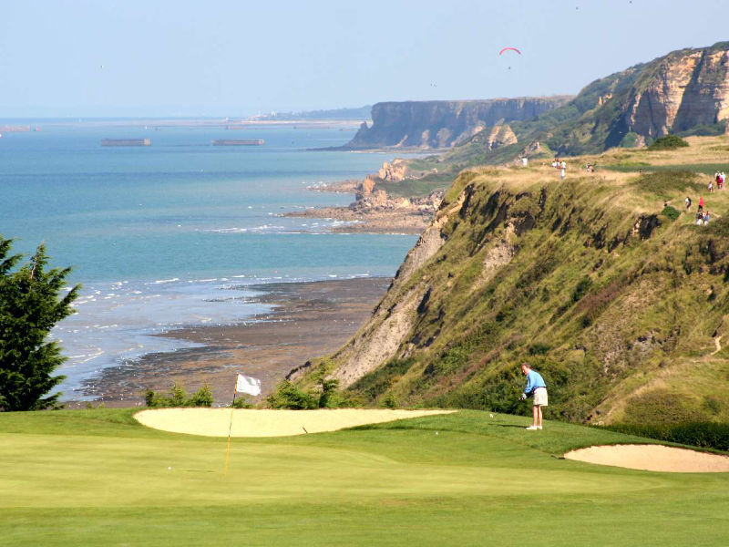 Omaha Beach Golf Course, Normandy, France
