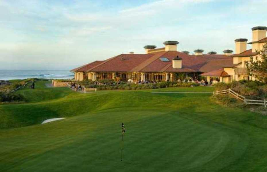 Pebble Beach Golf Links, California