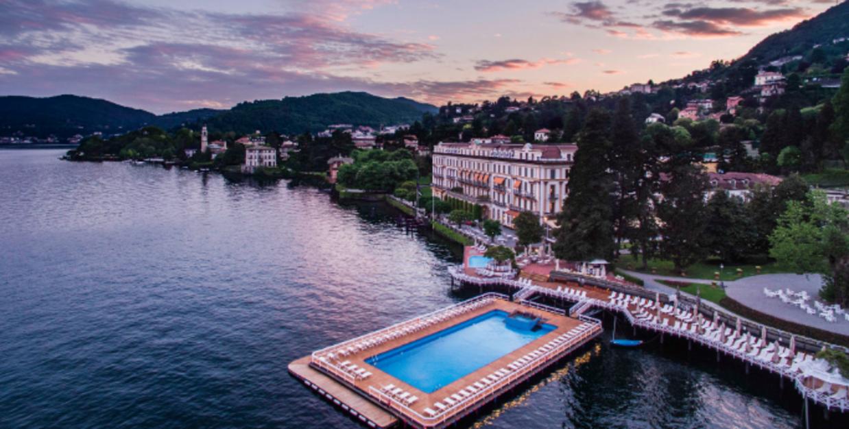 Villa d'Este Golf Club.  Lake Como, Italy